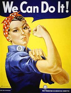 We Can Do It Poster from WWII