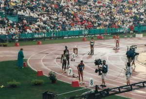 Track and Field in the 1996 Olympics