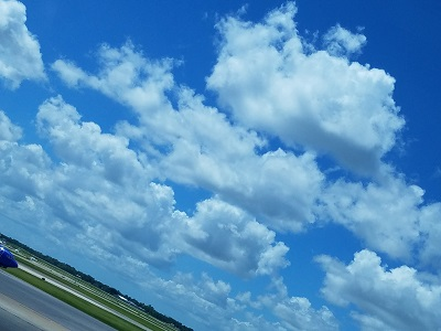 Clouds at Houston Hobby Airport