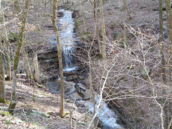 Waterfall from Guardrail