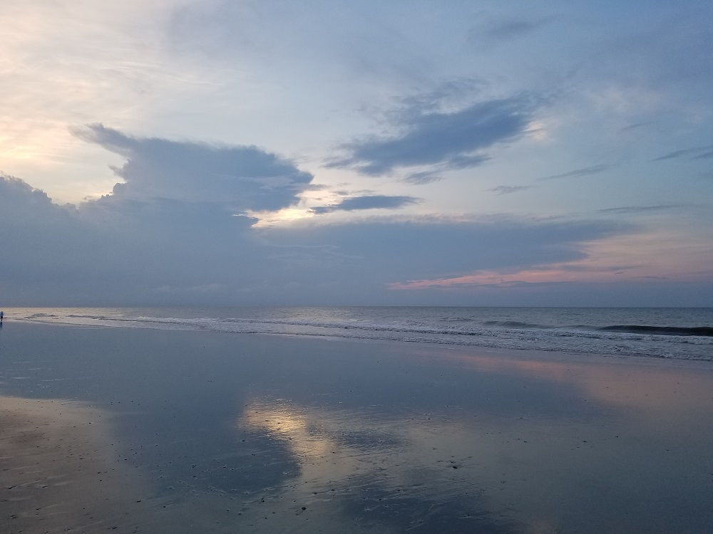 Sunrise at Myrtle Beach.